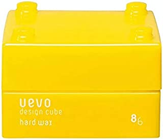 ウェーボ デザインキューブ (uevo design cube) ハードワックス 30g ヘアワックス 30グラム (x 1)