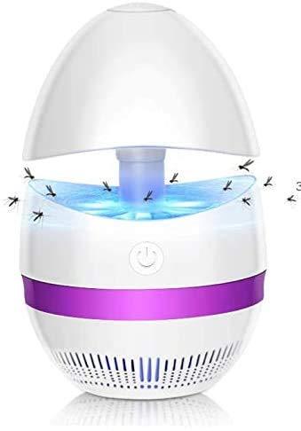 Ameauty 2021 - Lampada antizanzare a LED, repellente per zanzare, trappola elettrica per mosche e insetti, senza chimica, non tossica, per interni o esterni, casa, ufficio, campeggio