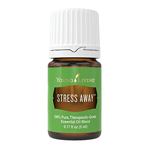 Young Living Stress Away Essential Oil Blend - with Lime, Cedarwood, Vanilla, and Lavender - 5 ml