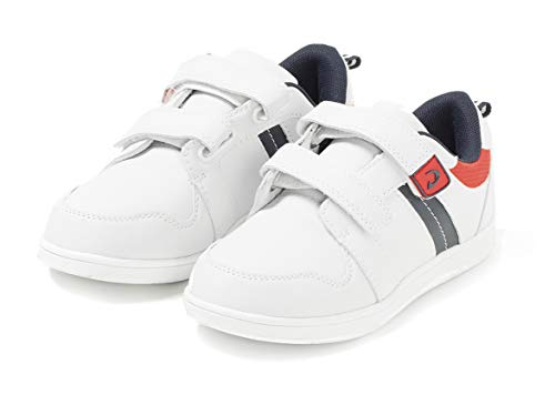 TEX - Zapatillas De Deporte para Niños, Blanco Mate, 31 EU