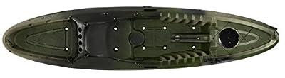 9351315060 Perception Striker 11.5 Angler Kayak by Confluence Kayak