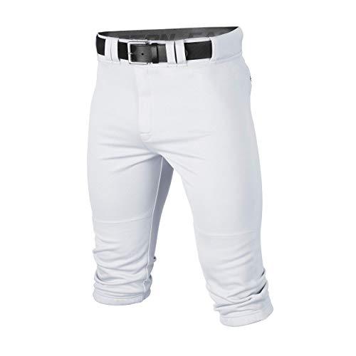 Easton RIVAL+ KNICKER Baseball Pant, White, Youth, XLarge