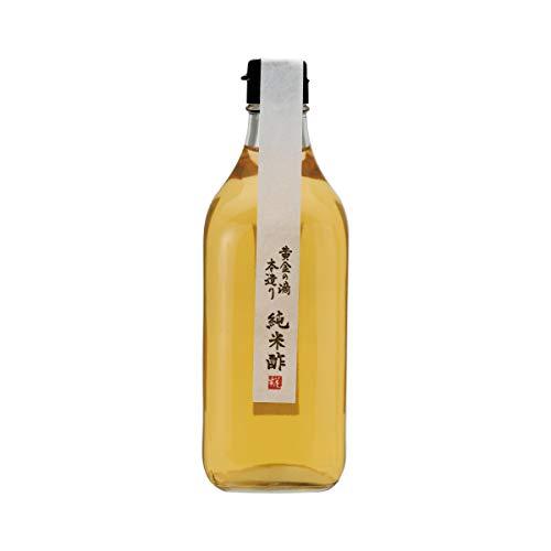 糀屋本店 米と米糀だけで作った 黄金の滴【純米酢】500ml