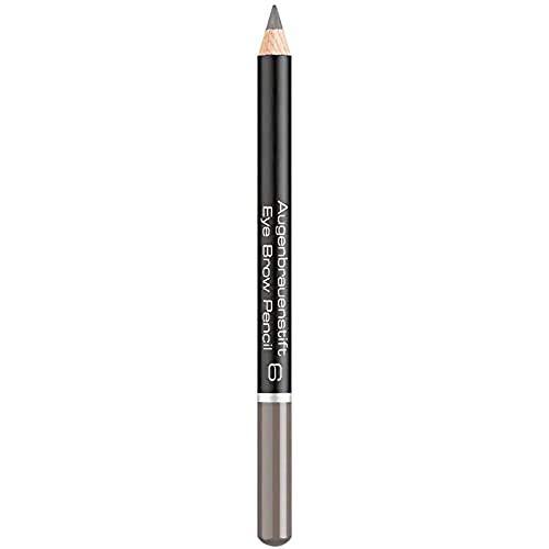ARTDECO Eyebrow Pencil, Augenbrauenstift, Nr. 6, medium grey brown