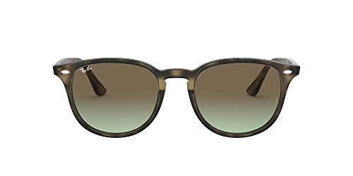 Luxottica S.p.A. Ray-Ban Unisex-Erwachsene 4259 Brillengestelle, Grau (Havana Grey/Green Gradient Brown), 51