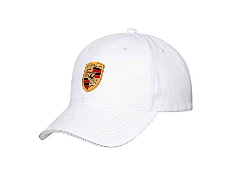 Porsche Flex Fit Baseball Cap in White