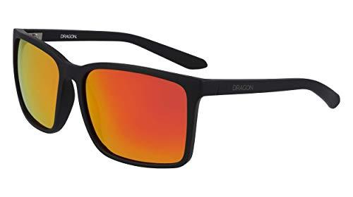 Dragon Mens DR MONTAGE ION Sunglasses, MATTE BLACK, 60mm, 16mm, 135mm