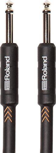 Roland Black Series Instrument Cable, Straight/Straight 1/4-Inch Jack, 15-Feet - http://coolthings.us