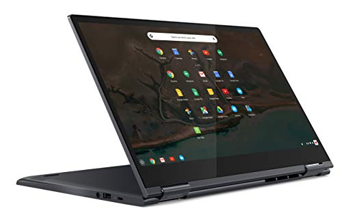 "Lenovo Yoga Chromebook C630 - Portátil táctil convertible 15.6"" FullHD (Intel Core i5-8250U, 8GB RAM, 128GB eMMC, Intel UHD Graphics, Chrome OS), Color azul - Teclado QWERTY español"