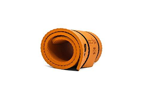 Bootymats Pro - Colchoneta Fitness Butt Workout Extra Acolchada. Máximo Confort y Comodidad: Fitness, Pilates, Suelo pélvico, Estiramientos. Medidas: 160 x 60 cm. Grosor: 19 mm. Color: Naranja
