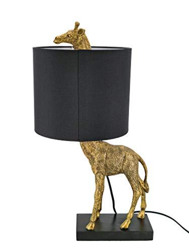 ABC Home Lighting Giraffe Nachttischlampe auffallendes Design schöne & außergewöhnliche Form 15564 ca. Ø 23,5 cm x 55 cm H Türkis