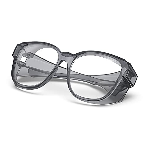 Anti Fog Safety Glasses, Anti Scratch And Anti-Blue Light, Safety Goggles For Men And Women (gray)