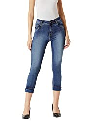 Miss Chase Womens Blue Skinny Jeans