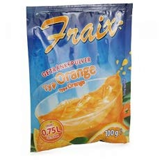 Fraix Getränkepulver Orange, 5er Pack (5 x 100g)