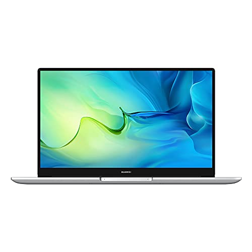 HUAWEI MateBook D 15 Laptop, display FullView da 1080P con modalità Eye Comfort, processore Intel Core di 11a generazione, Wi-Fi 6, memoria da 16GB, 512GB SSD, Windows 10 Home, Mystic Silver