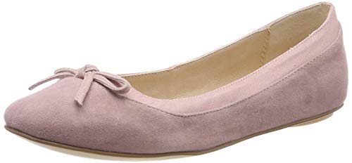 Buffalo Damen ANNELIE Geschlossene Ballerinas, Pink Light Pink 000, 38 EU