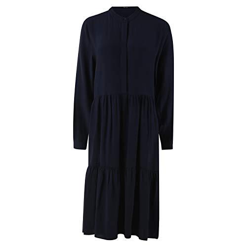 OPUS Damen Werani Uni Kleid, Just Blue, 38