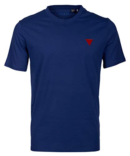 Guess Crew Neck S/S - Camiseta de manga corta para hombre az