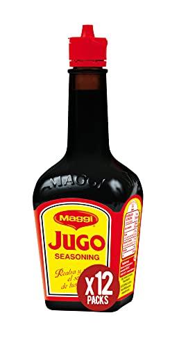 Maggi Jugo - Condimento Líquido - Paquete de 12 x 101 ml (Total: 1212 ml)