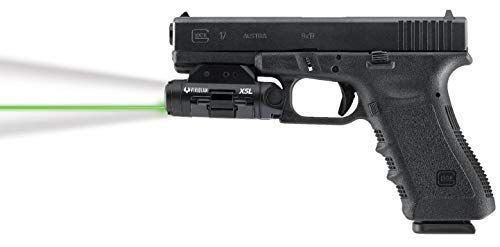 Viridian X5L Gen 3 Universal Green Laser Tactical Light (500 Lumens) Instant-ON, Removable Rechargeable Battery