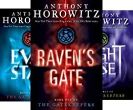 Horowitz's 4-book GATEKEEPERS Series -- Raven's Gate / Evil Star / Nightrise / Necropolis