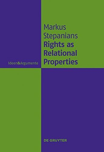 Rights as Relational Properties: In Defense of the Classical Beneficiary Theory of Rights (Ideen & Argumente) (English Edition)