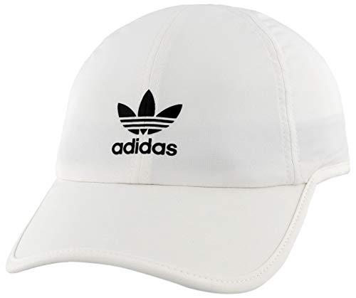 adidas Gorra Trainer II para Mujer, Hombre, 976509, Blanco y Negro, Talla única