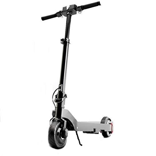 Dapang Scooter eléctrico Ligero y Plegable, 1-3 velocidades de regulación en Tiempo...