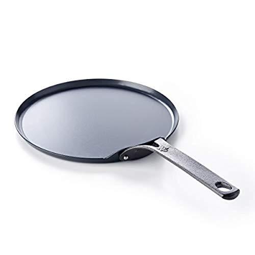 BK Black Carbon Steel Crepe Pan, 10'