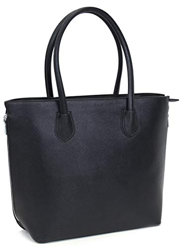 Vanessa & Melissa Damen Handtasche Kunstleder TÜV geprüft groß Shopping Bag Shopper A4 sale