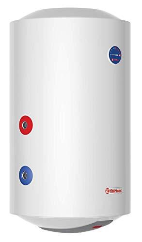 Thermex Kombi ER 80 V Links, elektrische Warmwasserspeicher mit integriertem Wärmetauscher. ER80V Combi, 230 V, Weiß