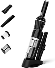 VacLife Handheld Vacuum, Powerful Car Vacuum with Strong Suction, Fast-Charging with 2200 mAh Battery, Handheld Vacuum Cordless for Home, Office and Car, Model: EV-H066, Silver (VL736)