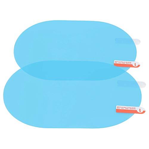 A prueba de lluvia Anti-vaho 100x145mm Espejo retrovisor protector de lluvia, Película de espejo exterior, para camiones Todos los remolques de coche con espejo retrovisor de tamaño estándar