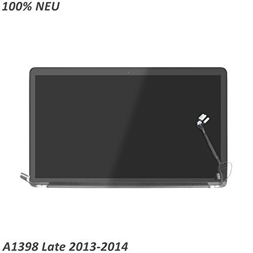 LCDOLED Neu LCD Bildschirm Komplett Display Einheit mit Deckel fur Apple MacBook Pro 15 Retina A1398 Late 2013 Mid 2014
