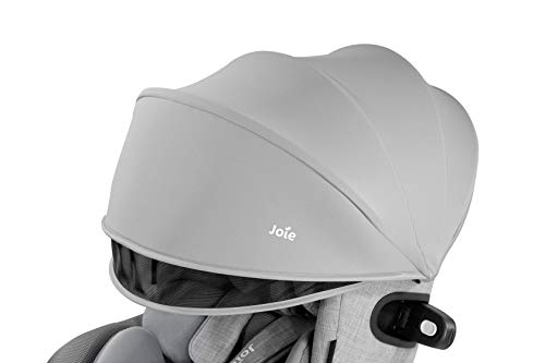 Joie(ジョイー)ISOFIX固定アイ・アーク360°キャノピー付グレー0か月~(1年保証)38011