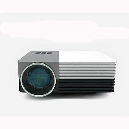 Proyector Soporte de proyección de Video portátil Fuente de alimentación móvil Reproducción Multimedia doméstica Compatible con TV Stick Full HD 1080P