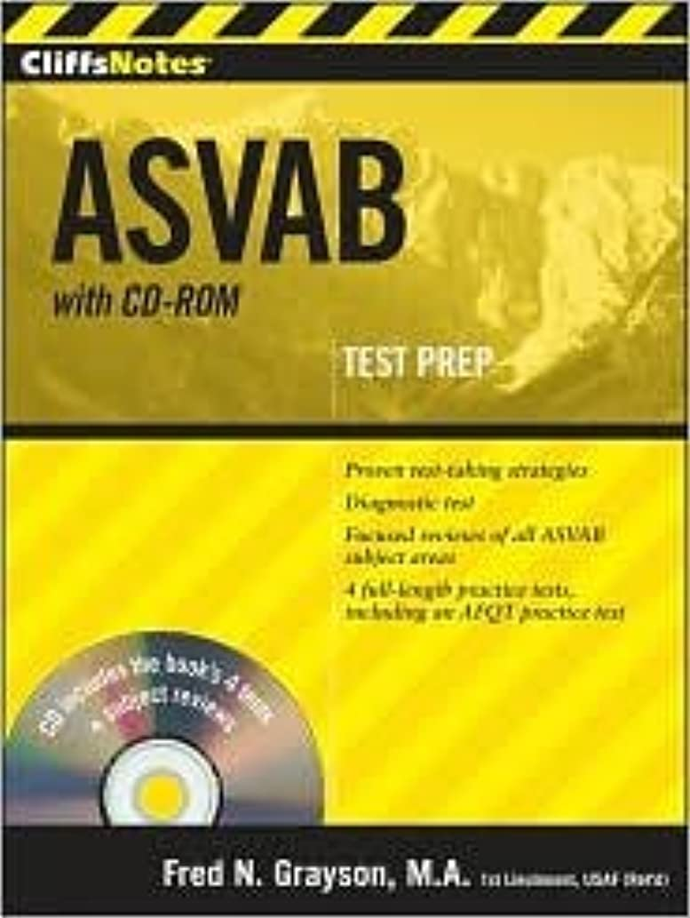 CliffsNotes ASVAB, with CD-ROM Publisher: Cliffs Notes; Pap/Cdr edition