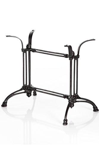 Tischfuß Doppel Tischgestell Gusseisen Bistro Tisch