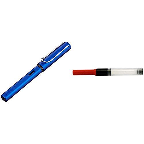 Lamy 28 AL-star - Pluma estilográfica, color azul + 1324763 - Conversor Z28 para pluma estilográfica