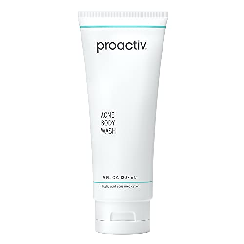 Proactiv Acne Body Wash - Exfoliating Body Wash for Sensitive Skin, Salicylic Acid Cleanser with Soothing Shea Butter & Cocoa Butter - 9 oz.