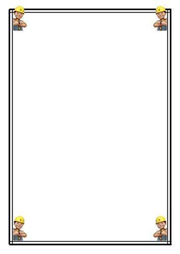 25 A5 Bob the Builder (New Bob) papier à lettres – papeterie – Papier Ordinaire