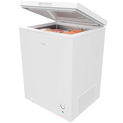 hOmeLabs HME030285N Chest Freezer, 5 Cubic Feet