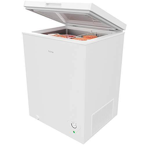 hOmeLabs HME030285N Chest Freezer, 5 Cubic Feet