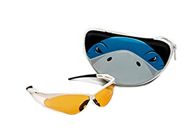 SHARKSHADES - The only Glasses Designed to Help You find Sharks Teeth on The Beach! White
