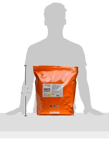 Bodybuilding Warehouse Premium Oat Whey Protein Powder - Meal Replacement Shake 4kg - Vanilla