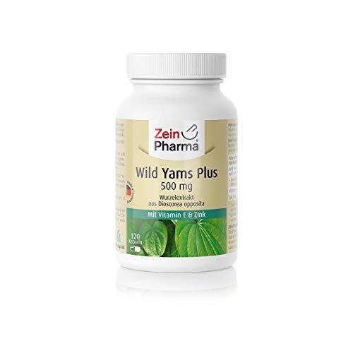 ZeinPharma Mexican Wild Yams 120 Vegetarische Kapseln, 1er Pack (1 x 75 g)