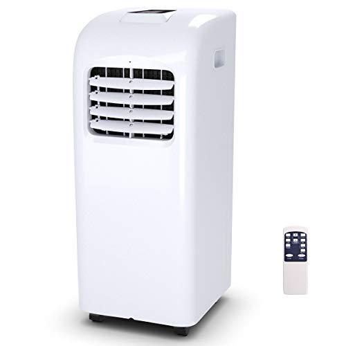 8000 BTU Portable Air Conditioner with Remote Control Dehumidifier Function Window Wall Mount (8000 BTU)