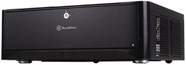 Silverstone Technology GD06B Classic HTPC-Desktop Case with Two Front USB 3.0 Ports - Black