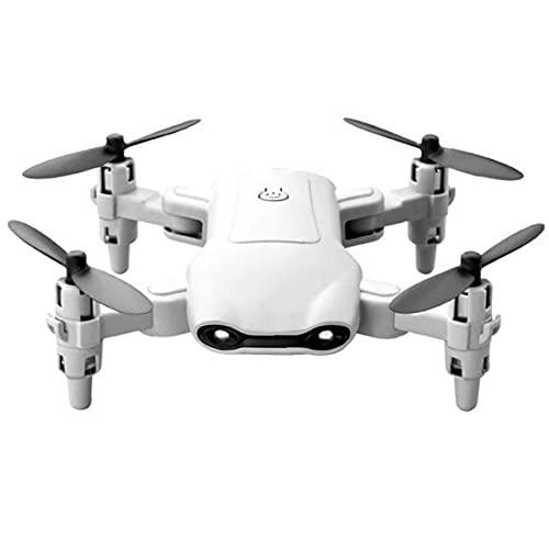 FeelMeet Mini cámara con Aviones no tripulados para niños y Adultos, Principiantes Drone Plegable vídeo en Directo Quadcopter.