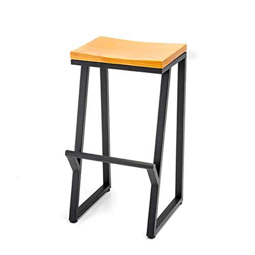 JXS-Barstools Chaise de Bar Tabouret de Bar Chaise Haute Famille Comptoir de Bar Décoration Décoration Chaise de Salle à Manger Ergonomique Design Coussin,85cm